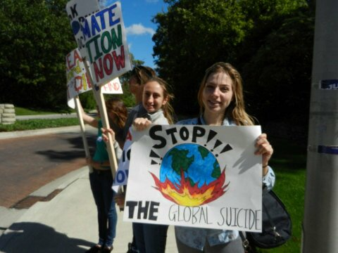 Muncie Climate Rally Held In Solidarity With Nyc People's Climate March